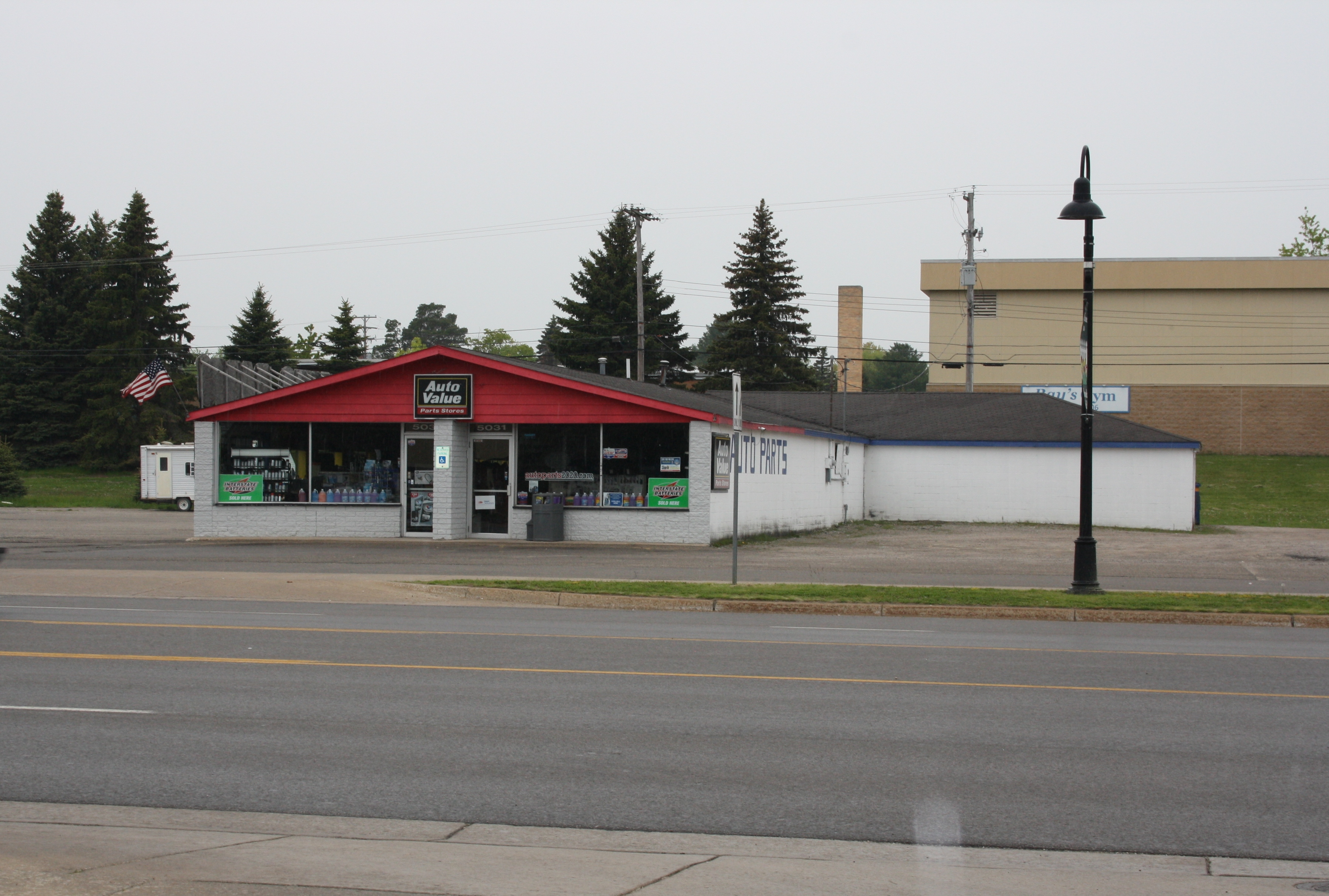 Commercial Storefront located on US 23 in Downtown Oscoda with