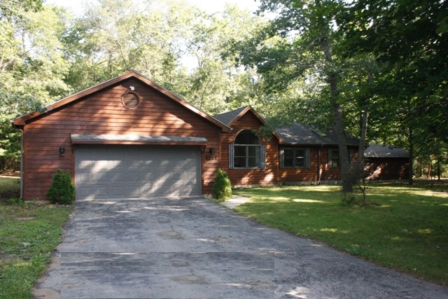 Custom Home with Lake Access and Second Garage